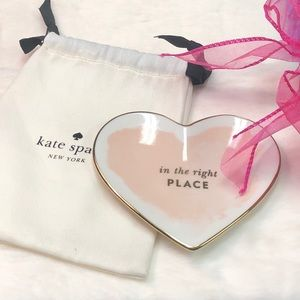 NWOT KATE SPADE ♠️ LENNOX IN THE RIGHT PLACE DISH
